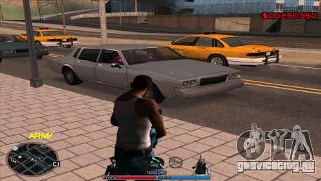 C-Hud Army by Kin для GTA San Andreas второй скриншот