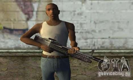 Пулемёт для GTA San Andreas третий скриншот