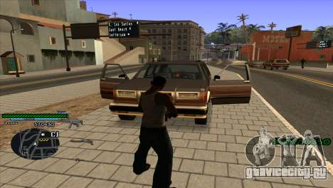 C-HUD Solt для GTA San Andreas второй скриншот
