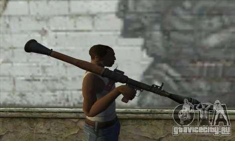Ракетная установка для GTA San Andreas третий скриншот