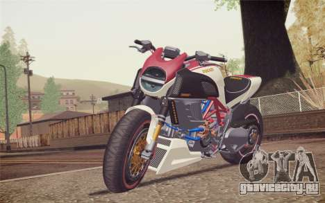 Ducati Diavel Carbon 2011 для GTA San Andreas
