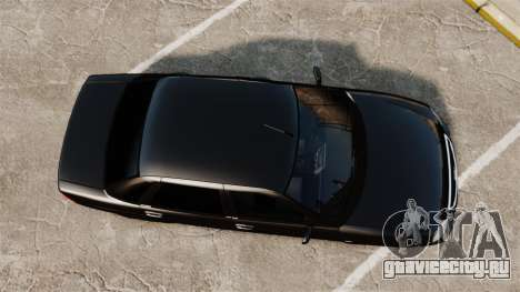 ВАЗ-2170 FBI для GTA 4 вид справа