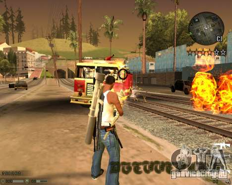 C-HUD CS:GO для GTA San Andreas третий скриншот