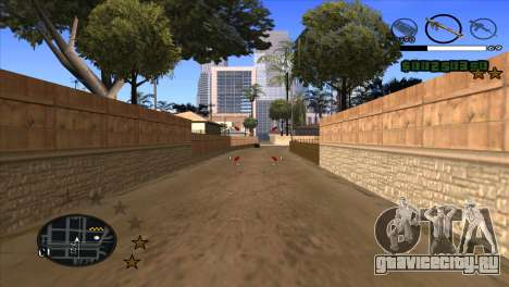 C-HUD by Djet для GTA San Andreas третий скриншот