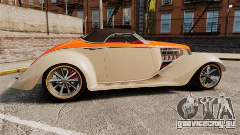 Ford Roadster 1936 Chip Foose 2006 для GTA 4 вид слева