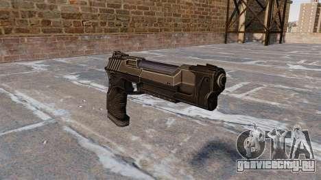 Пистолет Desert Eagle Crysis 2 для GTA 4