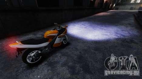 Реальный ксеноновый свет фар для GTA 4 второй скриншот