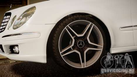 Mercedes-Benz E-Class Executive 2007 v1.1 для GTA 4 вид справа