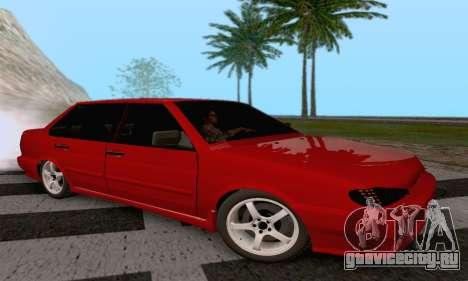 ВАЗ 2115 Diod для GTA San Andreas вид слева