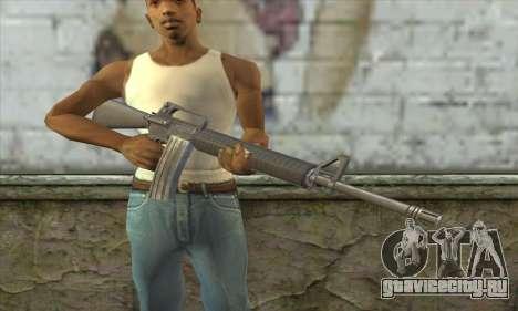 M4A1 из Postal 3 для GTA San Andreas третий скриншот