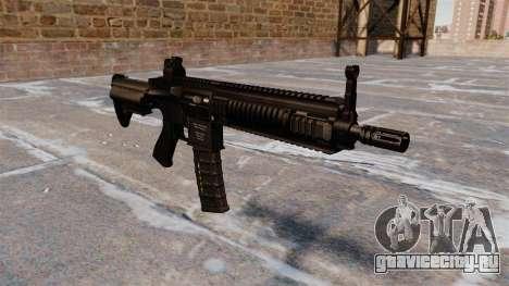Автомат HK416 для GTA 4