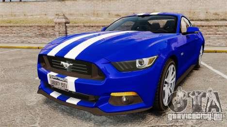 Ford Mustang GT 2015 Stock для GTA 4