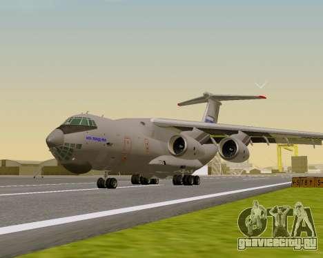 Ил-76МД-90А (Ил-476) для GTA San Andreas вид слева