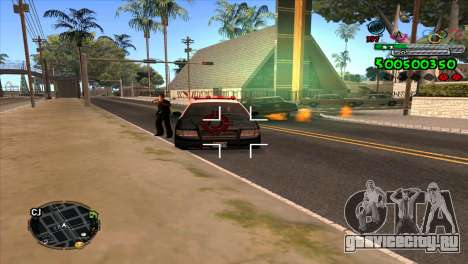 C-HUD Advance для GTA San Andreas третий скриншот