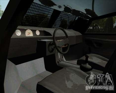 Zorrillo FF.EE для GTA San Andreas вид сзади
