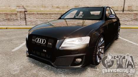 Audi S4 Unmarked Police [ELS] для GTA 4