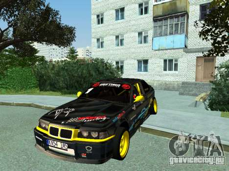 BMW M3 E36 Compact Darius Kepezinskas для GTA San Andreas