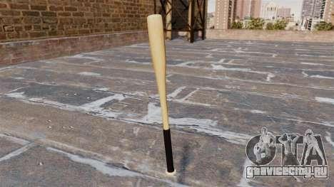HD деревянная бейсбольная бита для GTA 4 второй скриншот