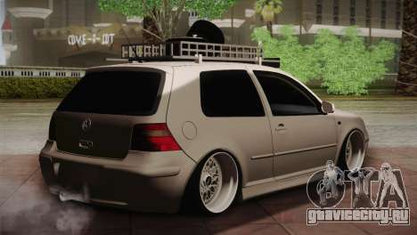 Volkswagen Golf IV Hellaflush для GTA San Andreas