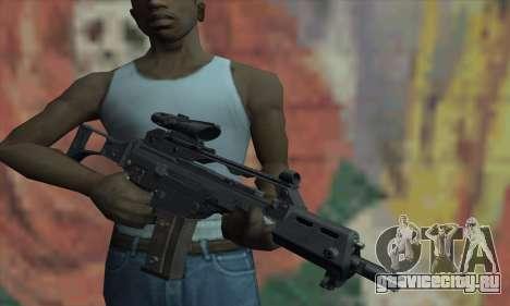 G36C для GTA San Andreas третий скриншот
