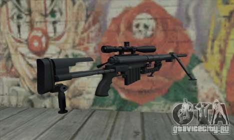 Black M200 Intervention для GTA San Andreas второй скриншот