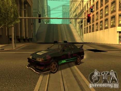 Винилы для Elegy для GTA San Andreas вид сзади слева
