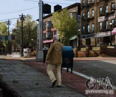 Красное перекрестье для GTA 4 второй скриншот