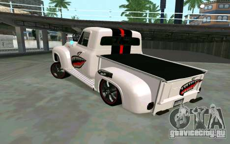 Ford FR-100 для GTA San Andreas вид слева