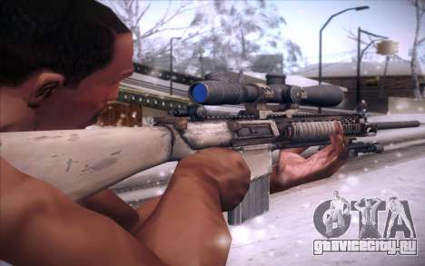 M110 для GTA San Andreas второй скриншот