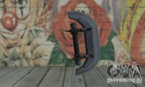 Knuckles - Hatchet для GTA San Andreas второй скриншот