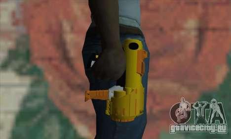 Nerf Gun для GTA San Andreas третий скриншот