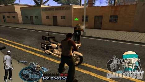 C-HUD Rifa by HARDy для GTA San Andreas третий скриншот