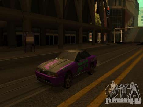 Винилы для Elegy для GTA San Andreas вид слева