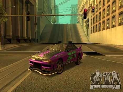 Винилы для Elegy для GTA San Andreas вид справа