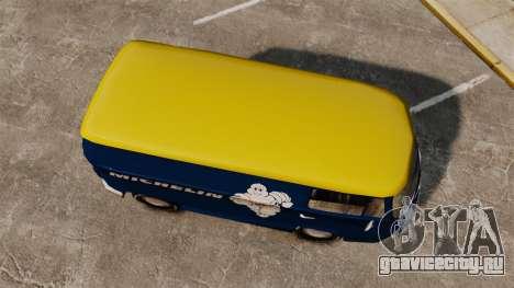 Volkswagen Transpoter 2 1975 для GTA 4 вид справа