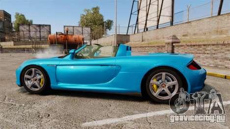 Porsche Carrera GT для GTA 4 вид слева