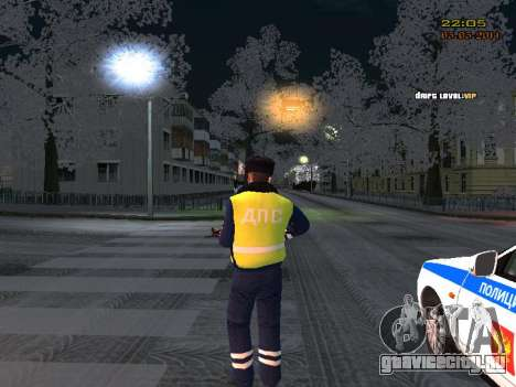Пак ДПС в зимней форме для GTA San Andreas третий скриншот