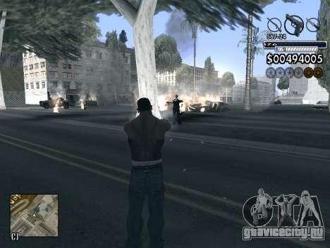 C-HUD v1.0 для GTA San Andreas