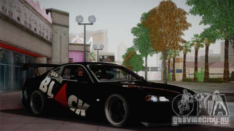 Nissan S15 Street Edition Djarum Black для GTA San Andreas