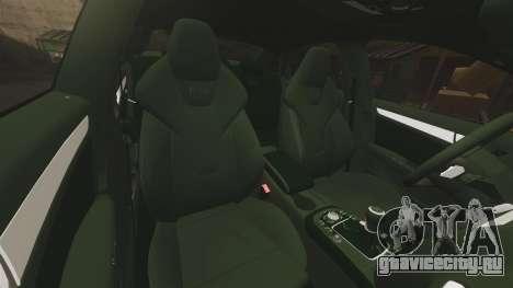 Audi S4 ANPR Interceptor [ELS] для GTA 4 вид сверху