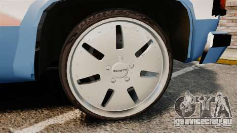 Chevrolet D-20 Custom для GTA 4 вид сзади