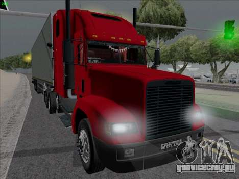 Freightliner FLD 120 для GTA San Andreas вид слева