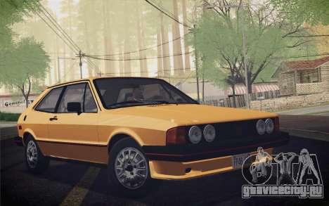 Volkswagen Scirocco S (Typ 53) 1981 IVF для GTA San Andreas