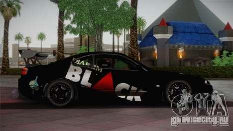 Nissan S15 Street Edition Djarum Black для GTA San Andreas вид слева