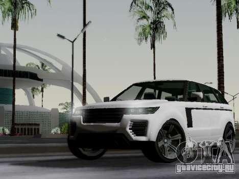 Baller 2 из GTA V для GTA San Andreas