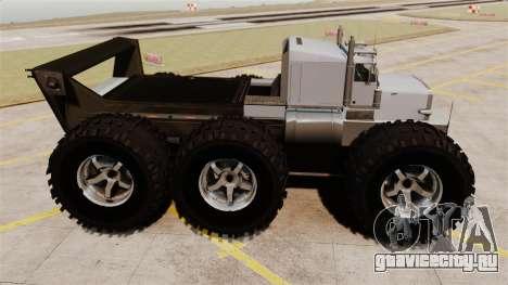 The Biggest Monster Truck для GTA 4 вид слева