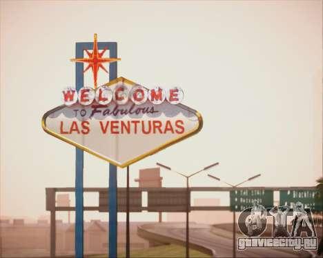 SA Graphics HD v 4.0 для GTA San Andreas