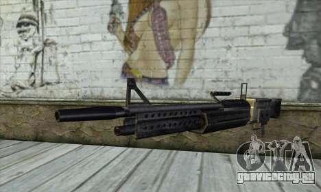 Пулемёт для GTA San Andreas