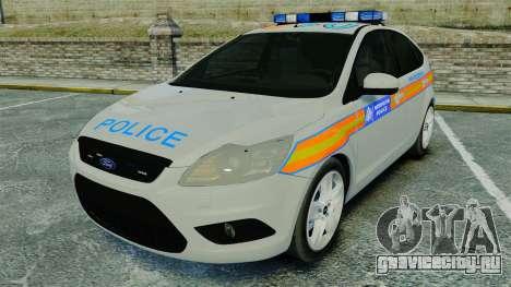 Ford Focus Metropolitan Police [ELS] для GTA 4
