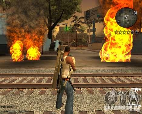 C-HUD CS:GO для GTA San Andreas